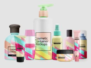 Cosmetic Container Mockups