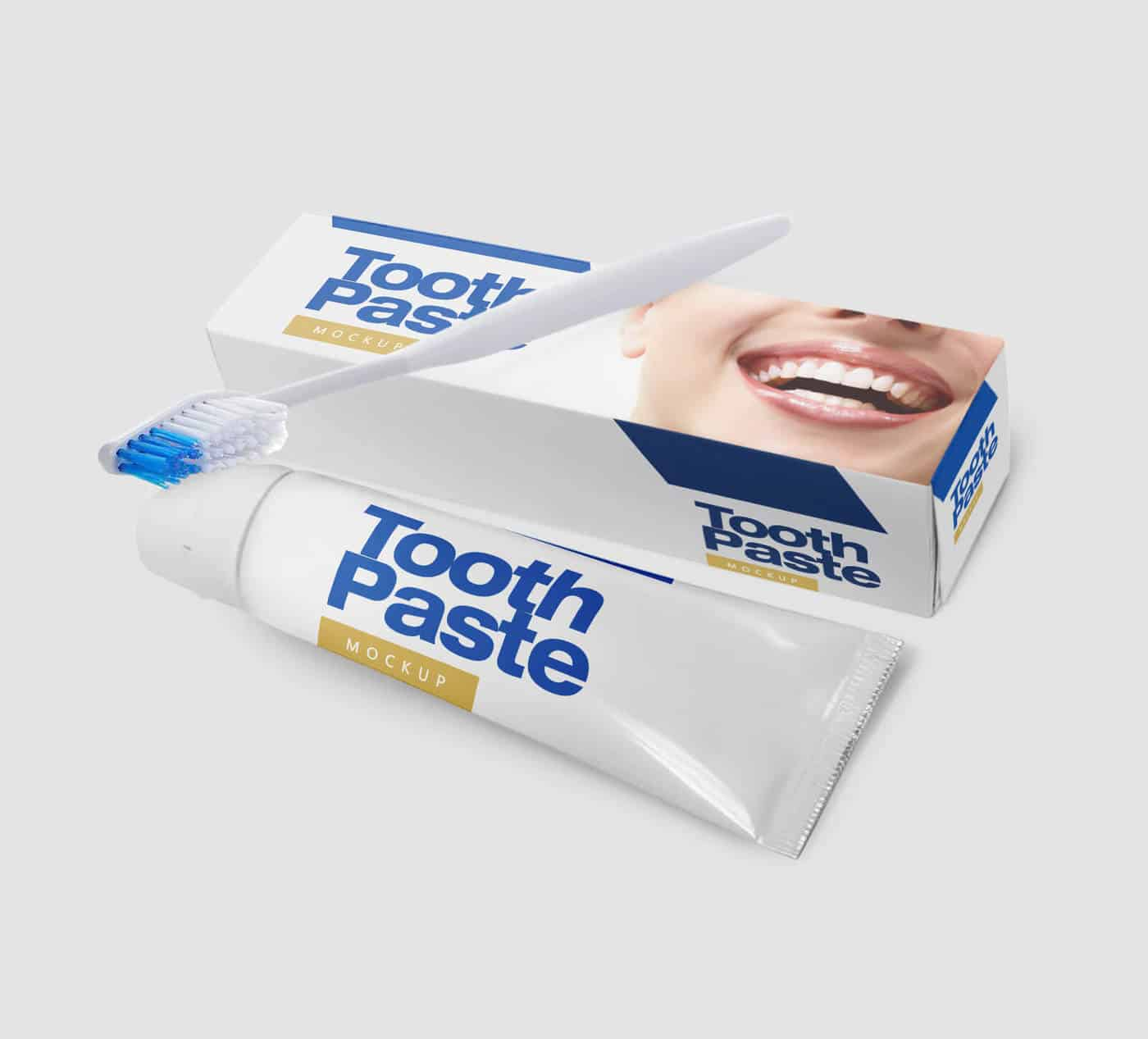 Tooth Paste Mockup