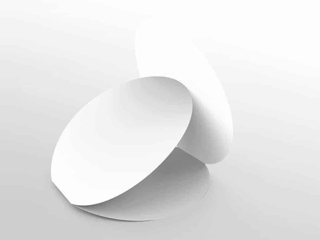 Circle Rounded Shape Brochure Mockups