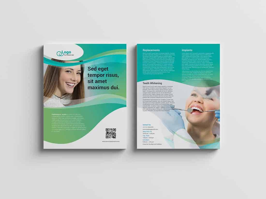 Dental Service Flyer Template v1