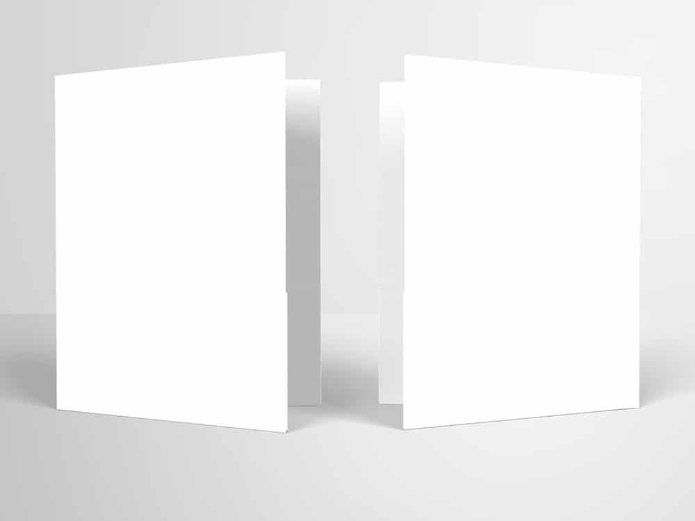 Pocket Folder Mockups with CD 9.5″ x 12″