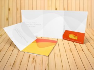 "Three Panel Presentation Folder 9""x12"""