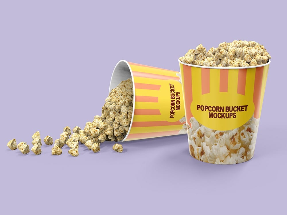 Popcorn Bucket Packaging