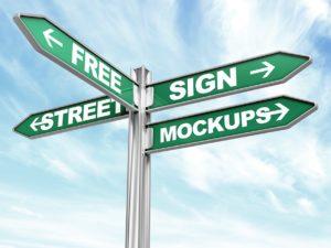 Street Sign Mockups 01