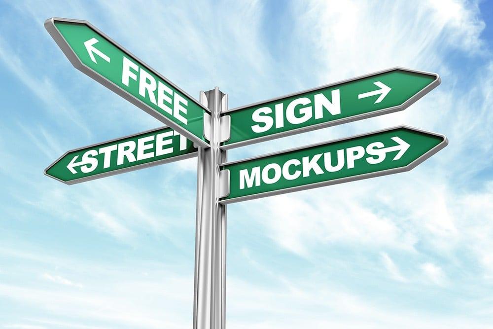 Street Sign Mockups