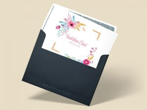 A2 Invitation Envelope Mockups