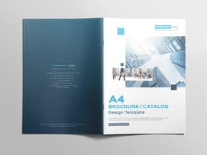 Multipurpose A4 Brochure Catalog Design Template 07