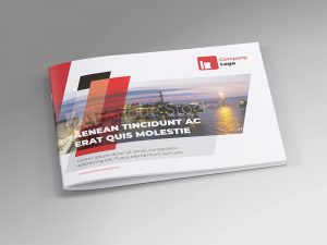 Offshore Oil and Gas Booklet Design Template