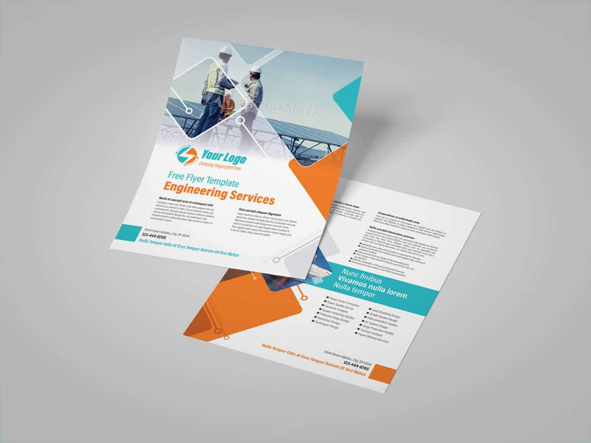 Power Engineering Services Flyer Template 01