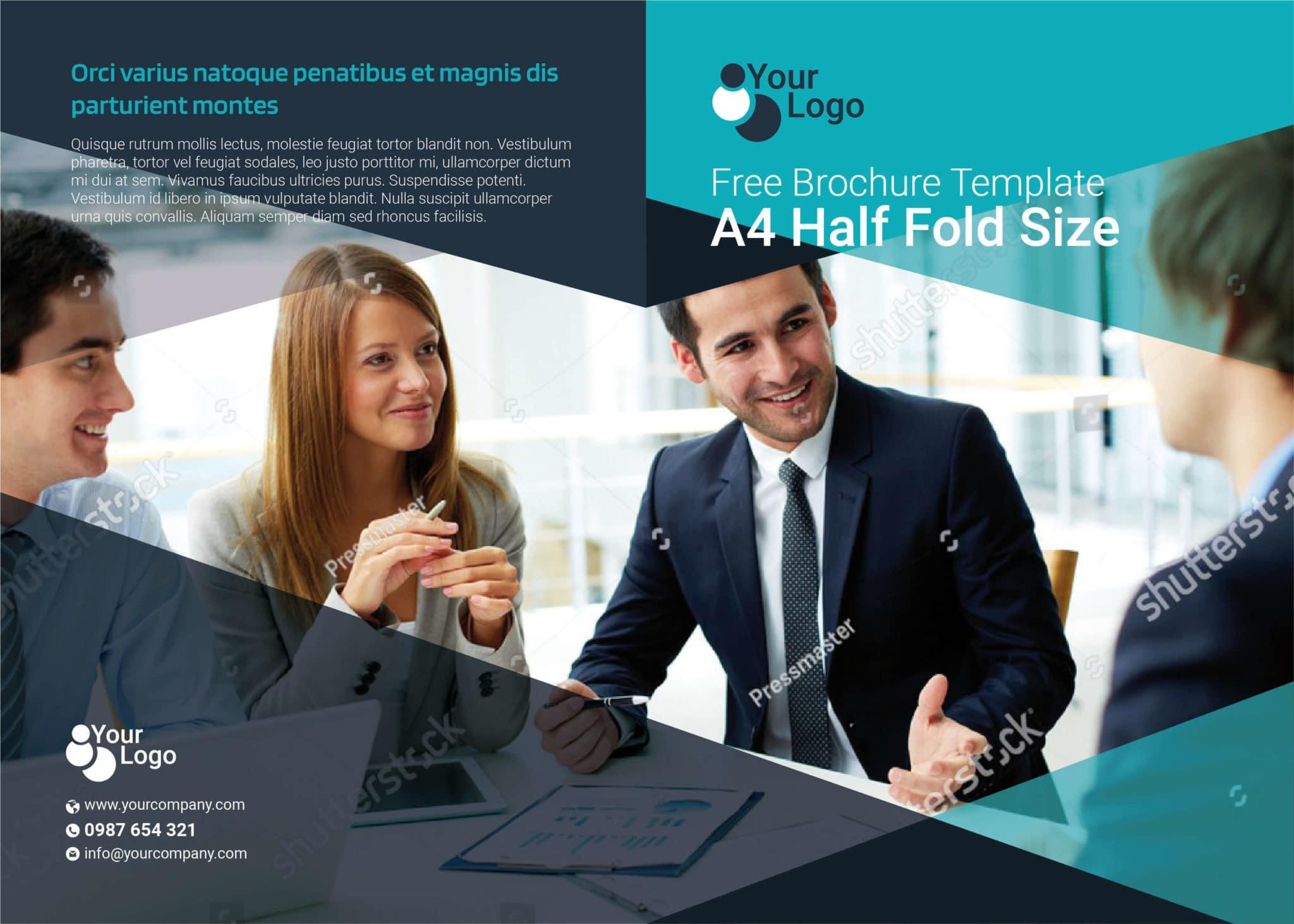 Free Multipurpose Bi Fold Flyer Template 01