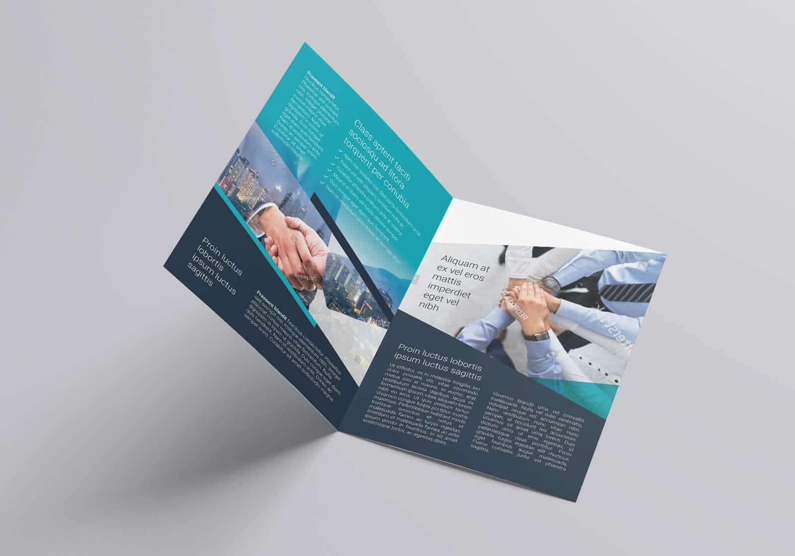 Free Multipurpose Bi Fold Flyer Template 02 1