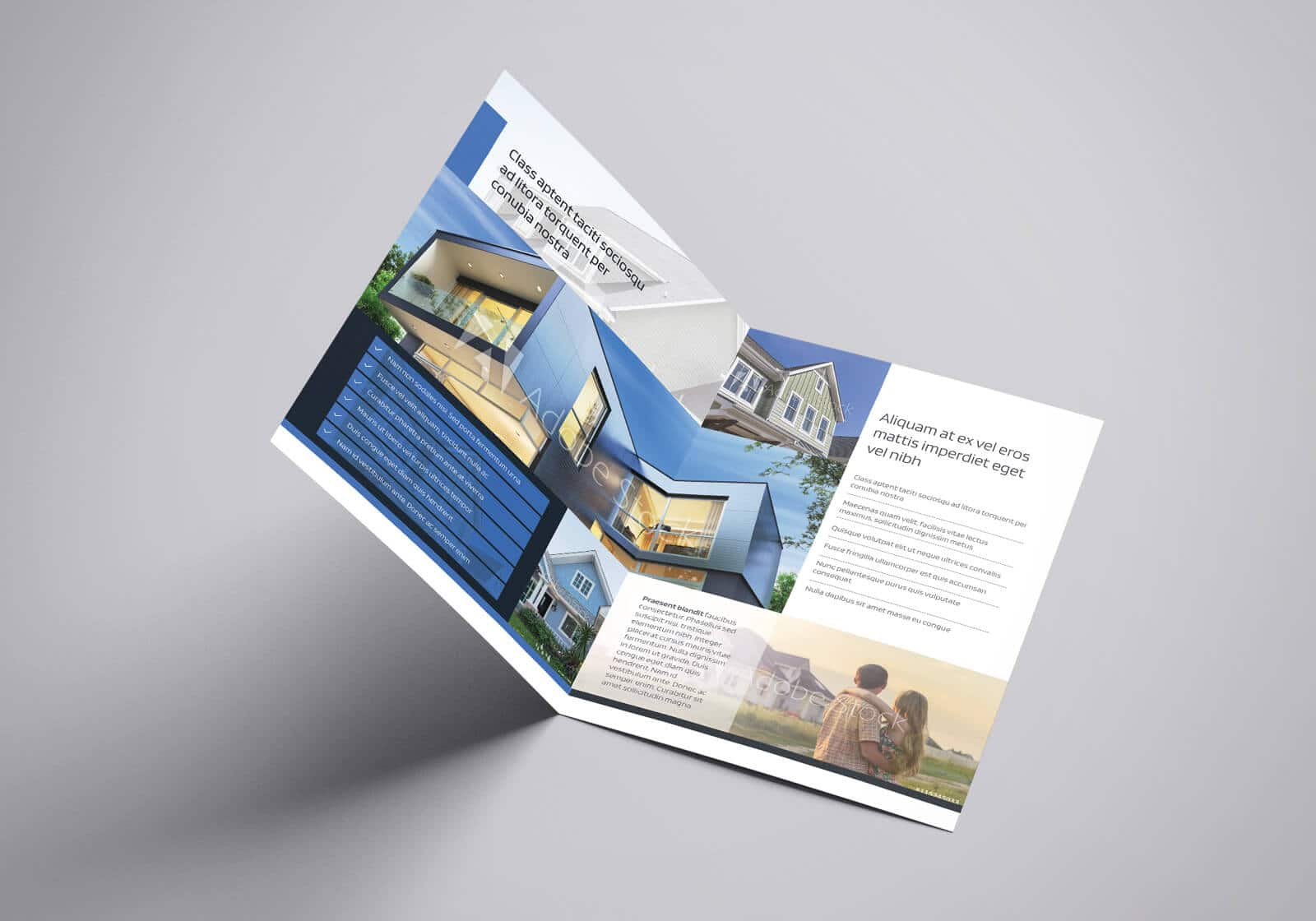 Residential Real Estate Half Fold Brochure Template 02 1