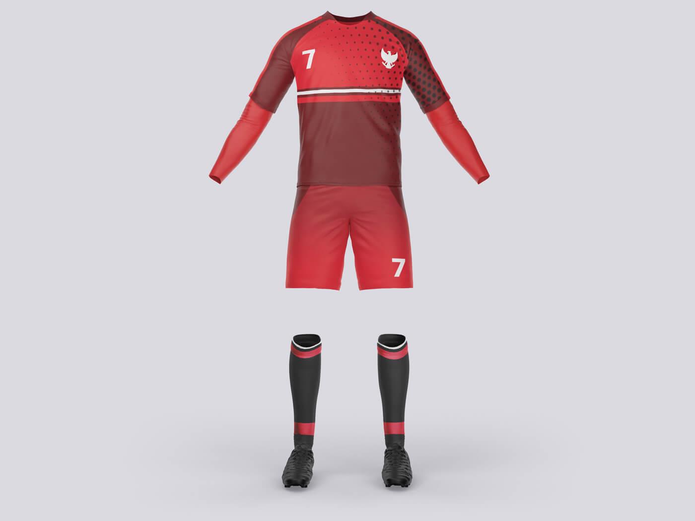 Soccer Costume Free Mockups