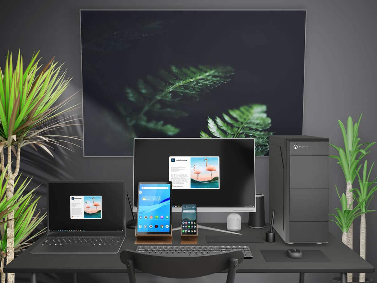 Working Desk Mockups 1